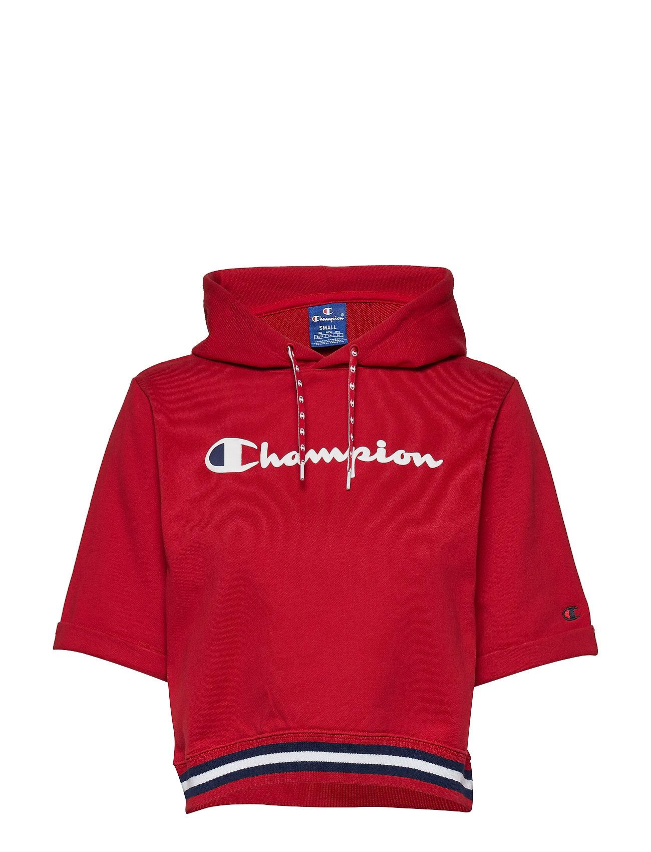 Champion Rochester Short Sleeve Hooded Sweatshirt