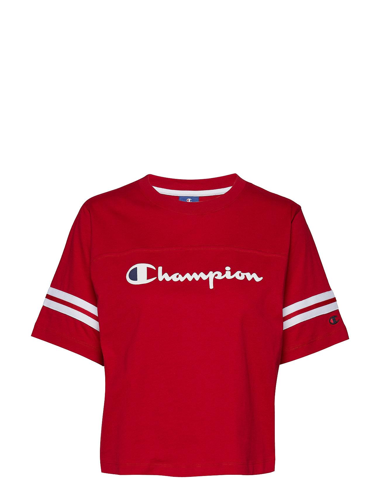 39b7168f5f84 Crewneck Croptop (Red) (24.50 €) - Champion Rochester - | Boozt.com