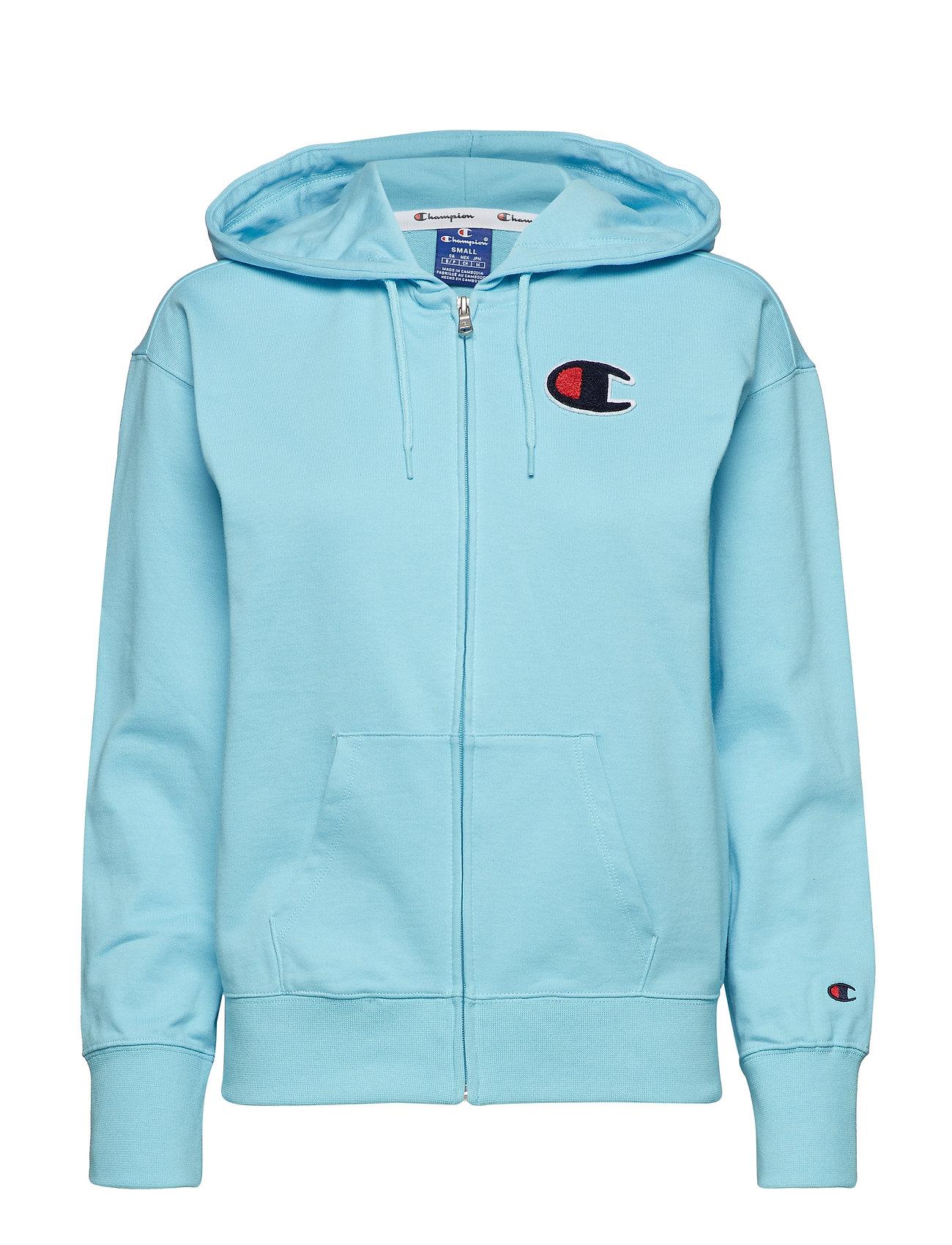Rochester Hooded Full BlueChampion Zip Sweatshirtbright H2DEY9IeW
