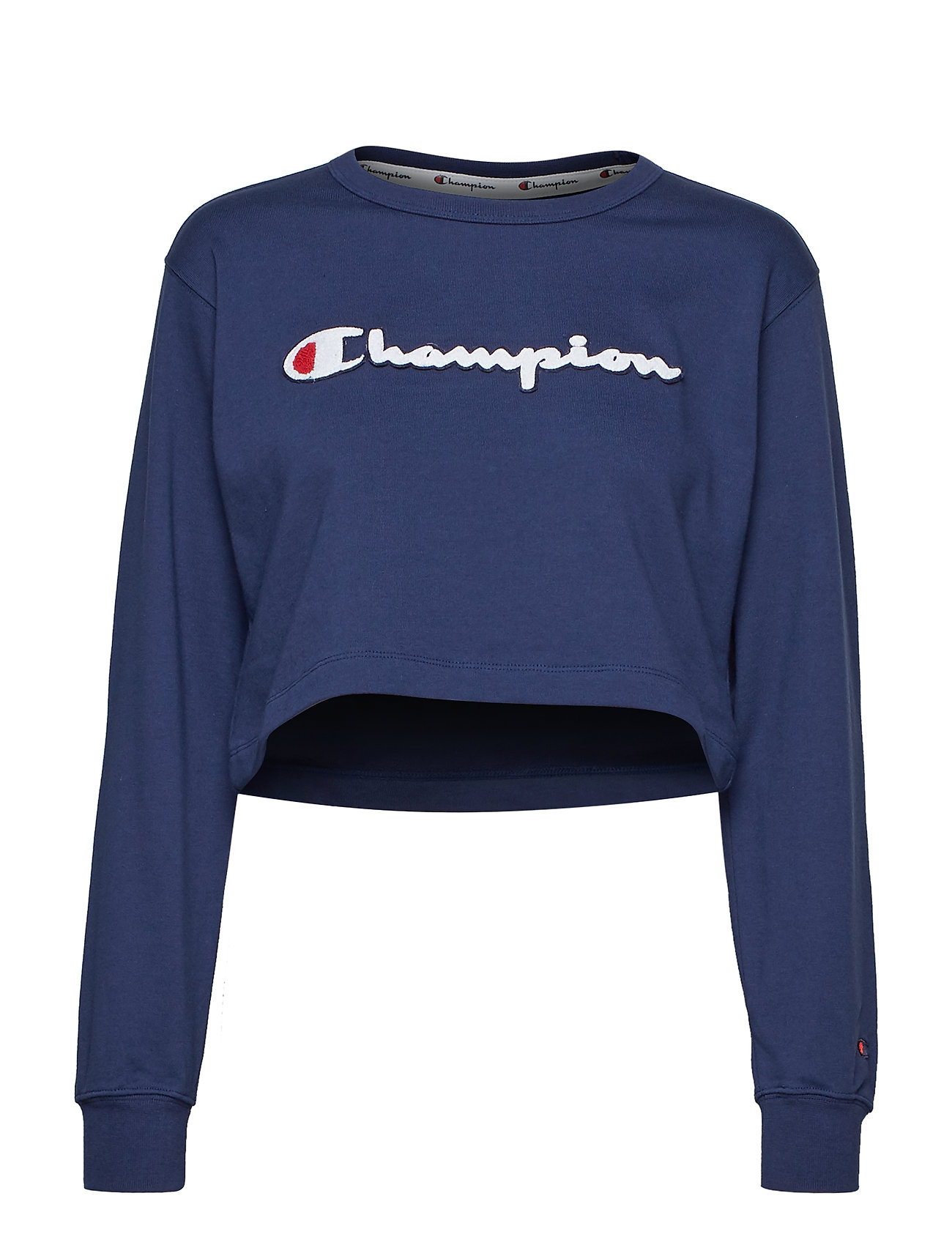 Champion Rochester Crewneck Croptop - DARK BLUE