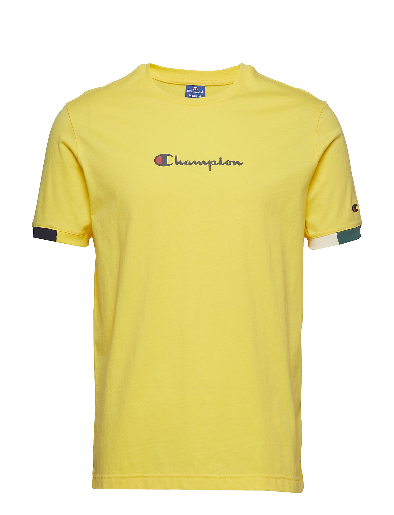 Ringer T Shirt T shirt Gul CHAMPION ROCHESTER