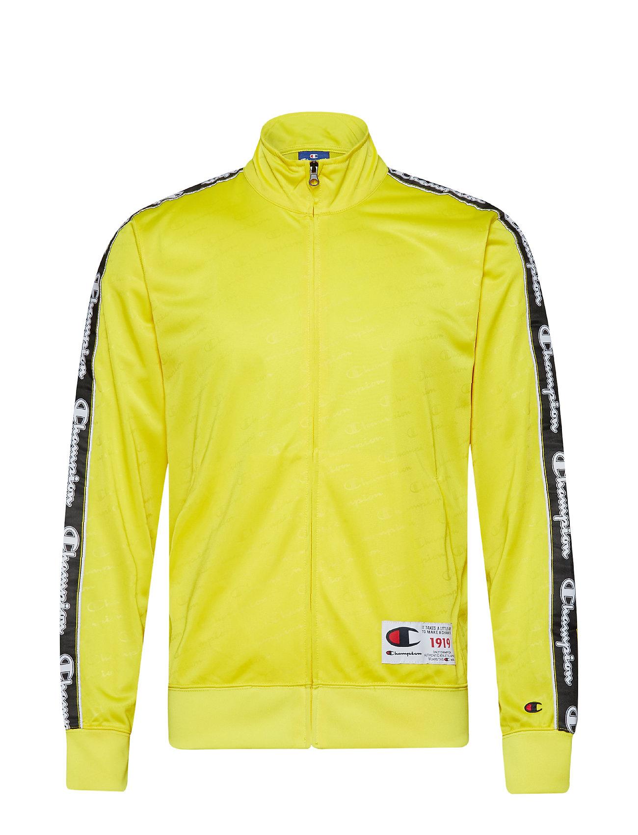 Champion Rochester Full Zip Sweatshirt - YELLOW