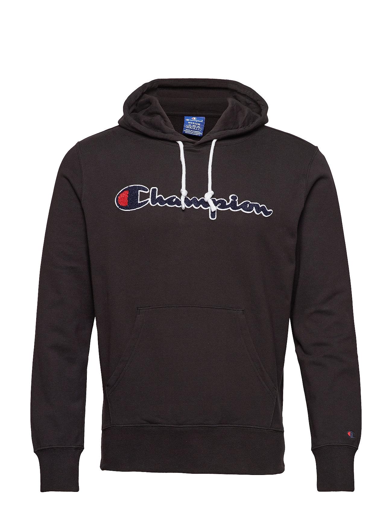 Champion Rochester Hooded Sweatshirt - BLACK