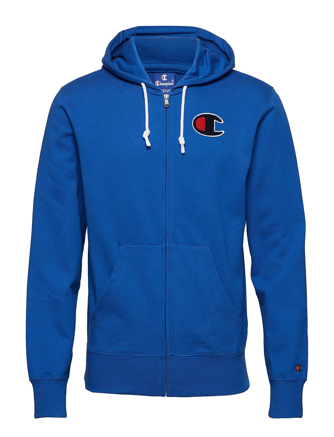 Champion Rochester Hooded Full Zip Sweatshirt - ROYAL BLUE