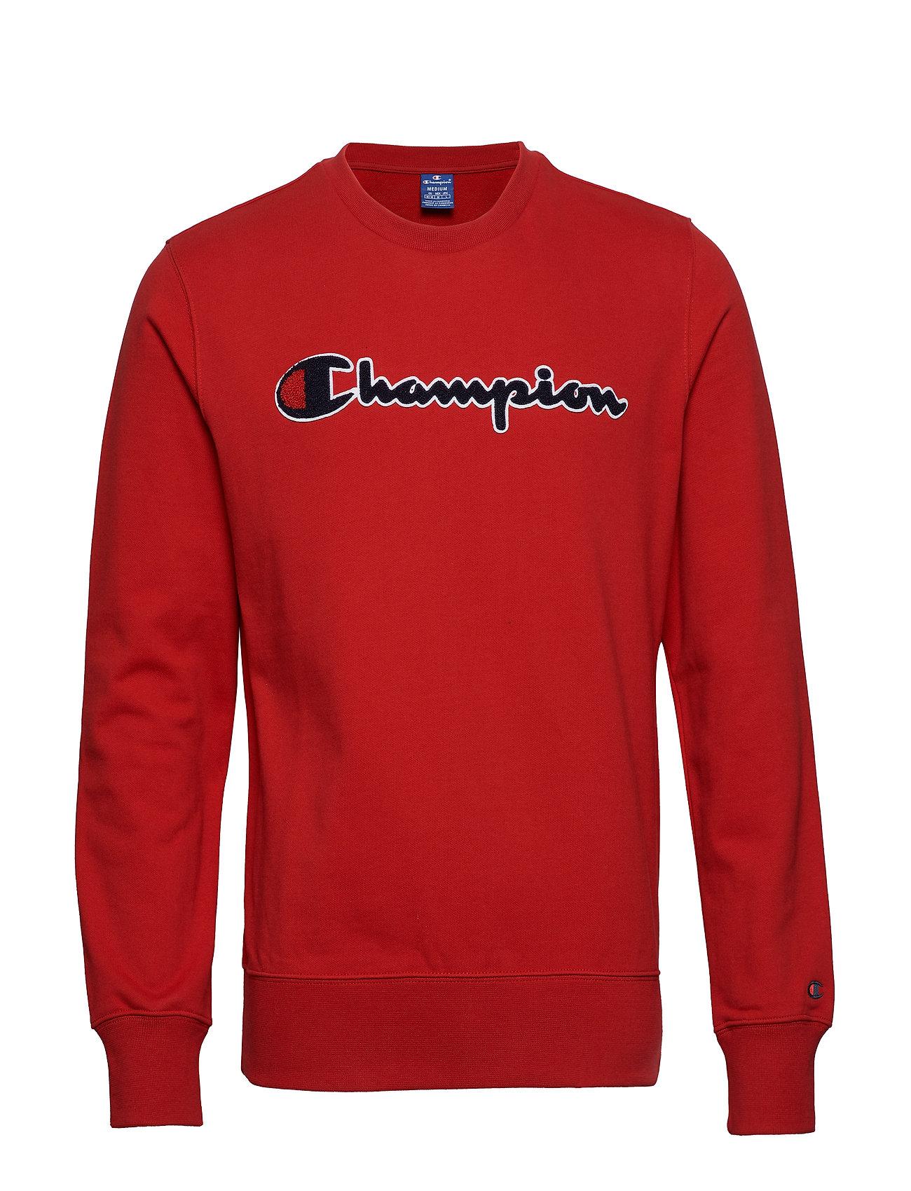 Crewneck Sweatshirt Langærmet Trøje Rød CHAMPION ROCHESTER