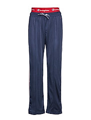 Straight Hem Pants - DARK BLUE