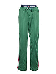 Straight Hem Pants - GREEN