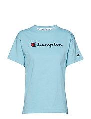 Crewneck T-Shirt - BRIGHT BLUE