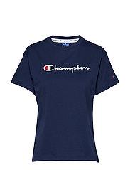 Crewneck T-Shirt - DARK BLUE