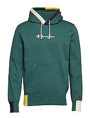Hooded Sweatshirt - DARK GREEN