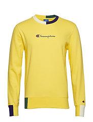 Crewneck Sweatshirt - YELLOW