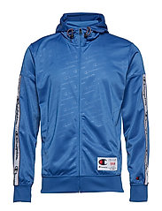 Hooded Full Zip Suit - BLUE ALL OVER