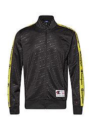 Full Zip Sweatshirt - BLACK