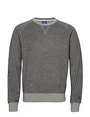 Crewneck Sweatshirt - GREY AND NAVY