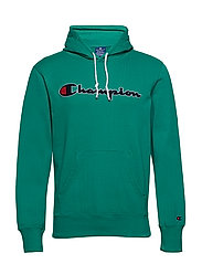 Hooded Sweatshirt - BRIGHT GREEN
