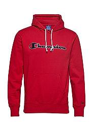 Hooded Sweatshirt - RED