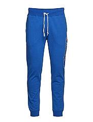 Rib Cuff Pants - ROYAL BLUE