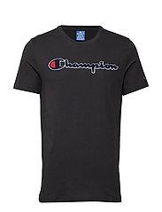 Crewneck T-Shirt - BLACK
