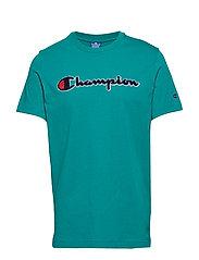 Crewneck T-Shirt - BRIGHT GREEN