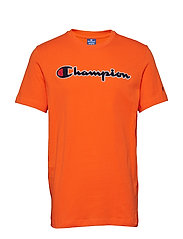 Crewneck T-Shirt - ORANGE