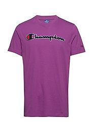 Crewneck T-Shirt - PURPLE