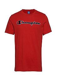 Crewneck T-Shirt - RED