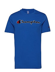 Crewneck T-Shirt - ROYAL BLUE