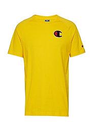 Crewneck T-Shirt - YELLOW