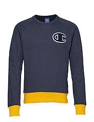 Crewneck Sweatshirt - DEEP BLUE