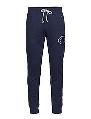 Rib Cuff Pants - DEEP BLUE