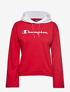 Hooded Sweatshirt - RED