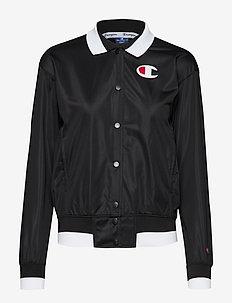 Bomber Sweatshirt - BLACK