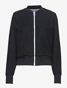 Bomber Sweatshirt - NAVY