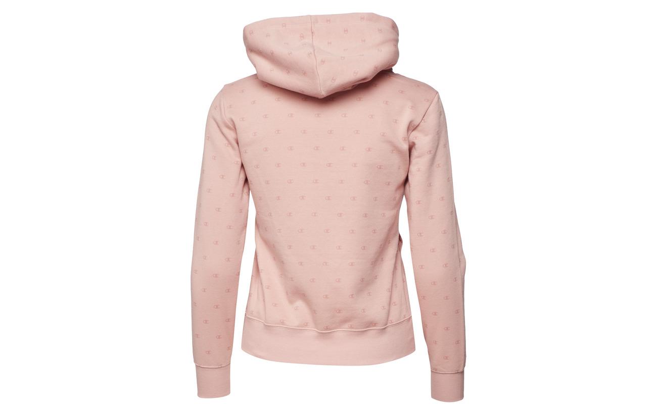 Sweatshirt 78 Coton Al Polyester Rose Tan rtn 22 Champion Hooded 5TxwO