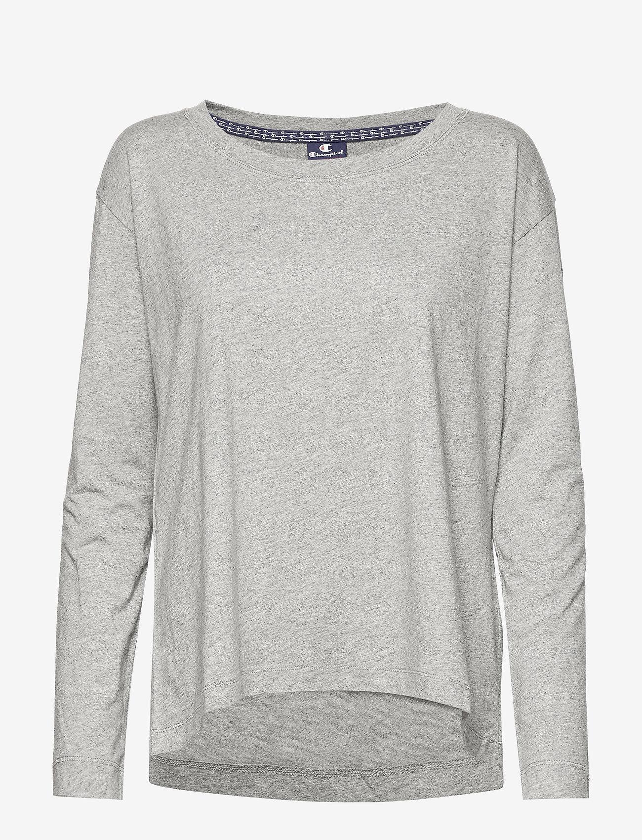 Champion - Long Sleeve T-Shirt - bluzki z długim rękawem - oxford grey - 0