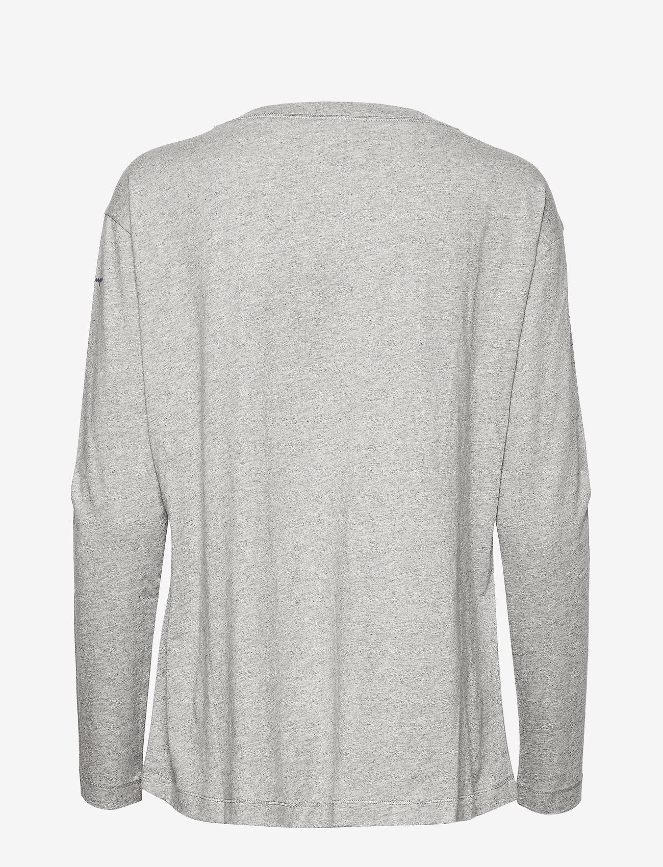 Champion - Long Sleeve T-Shirt - bluzki z długim rękawem - oxford grey - 1