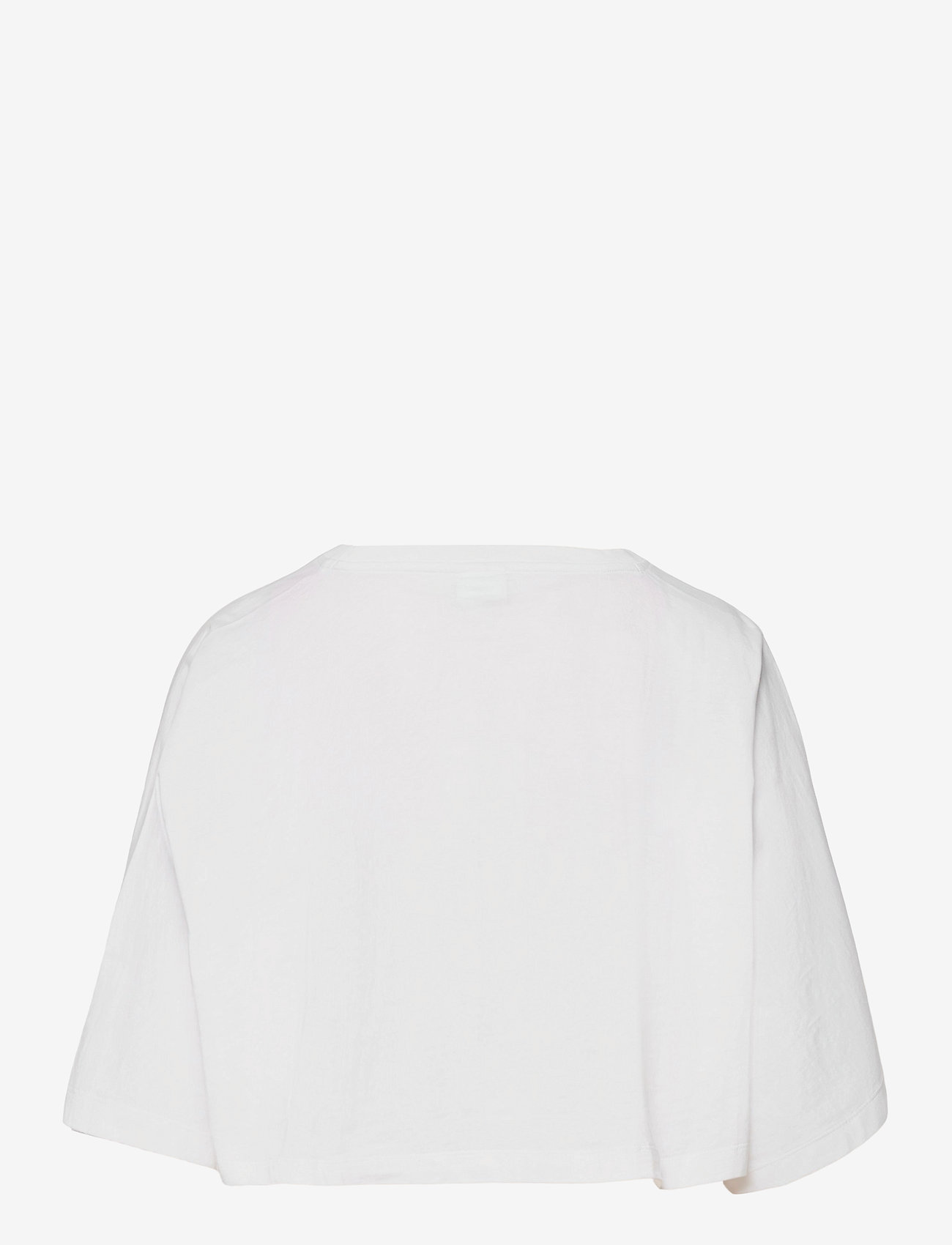Champion - Crewneck T-Shirt - crop tops - white - 1