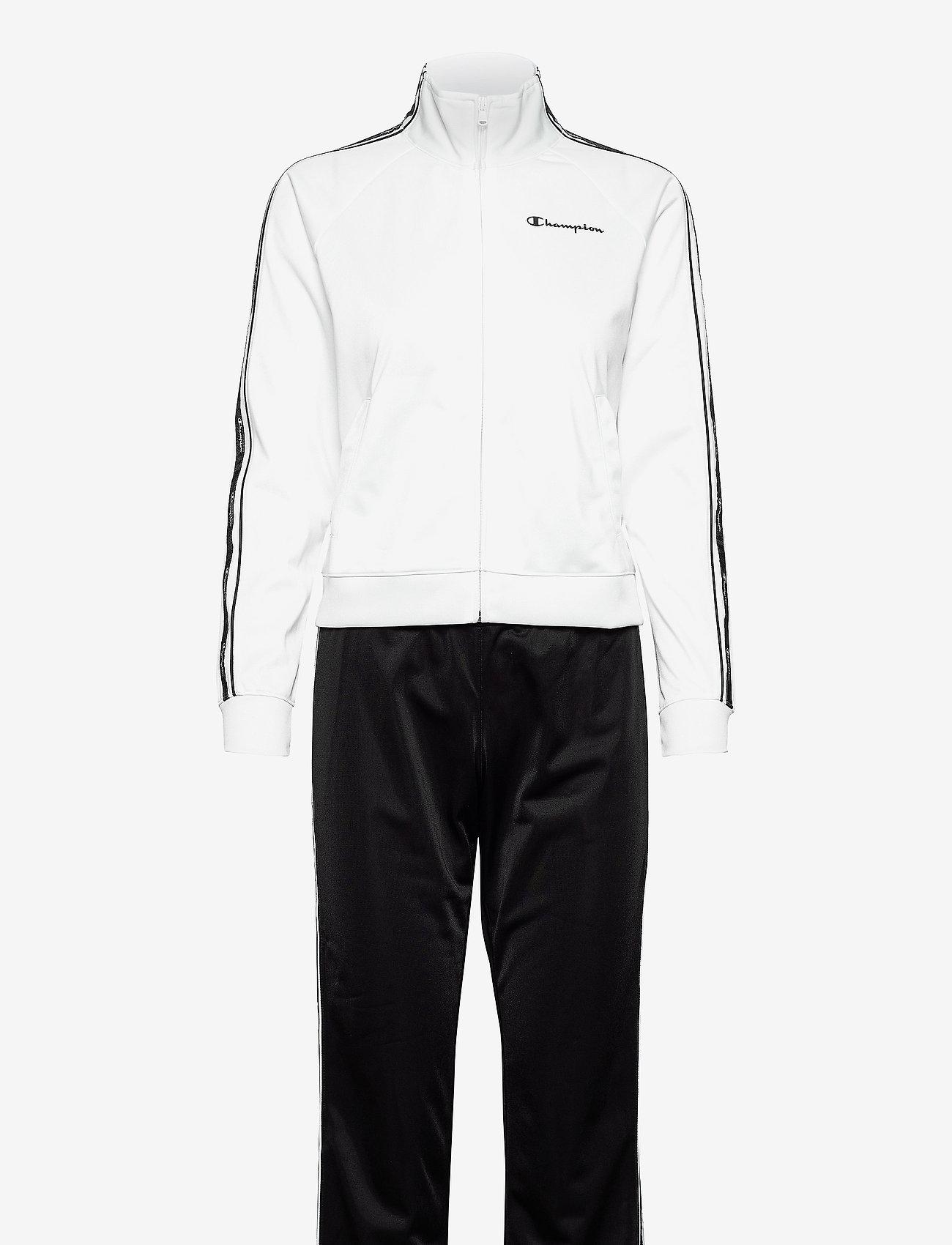 Champion - Full Zip Suit - trainingspakken - white - 1