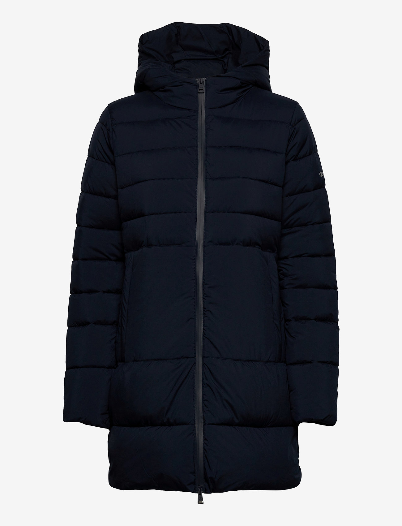 Champion - Hooded Polyfilled Jacket - parkas - sky captain - 1