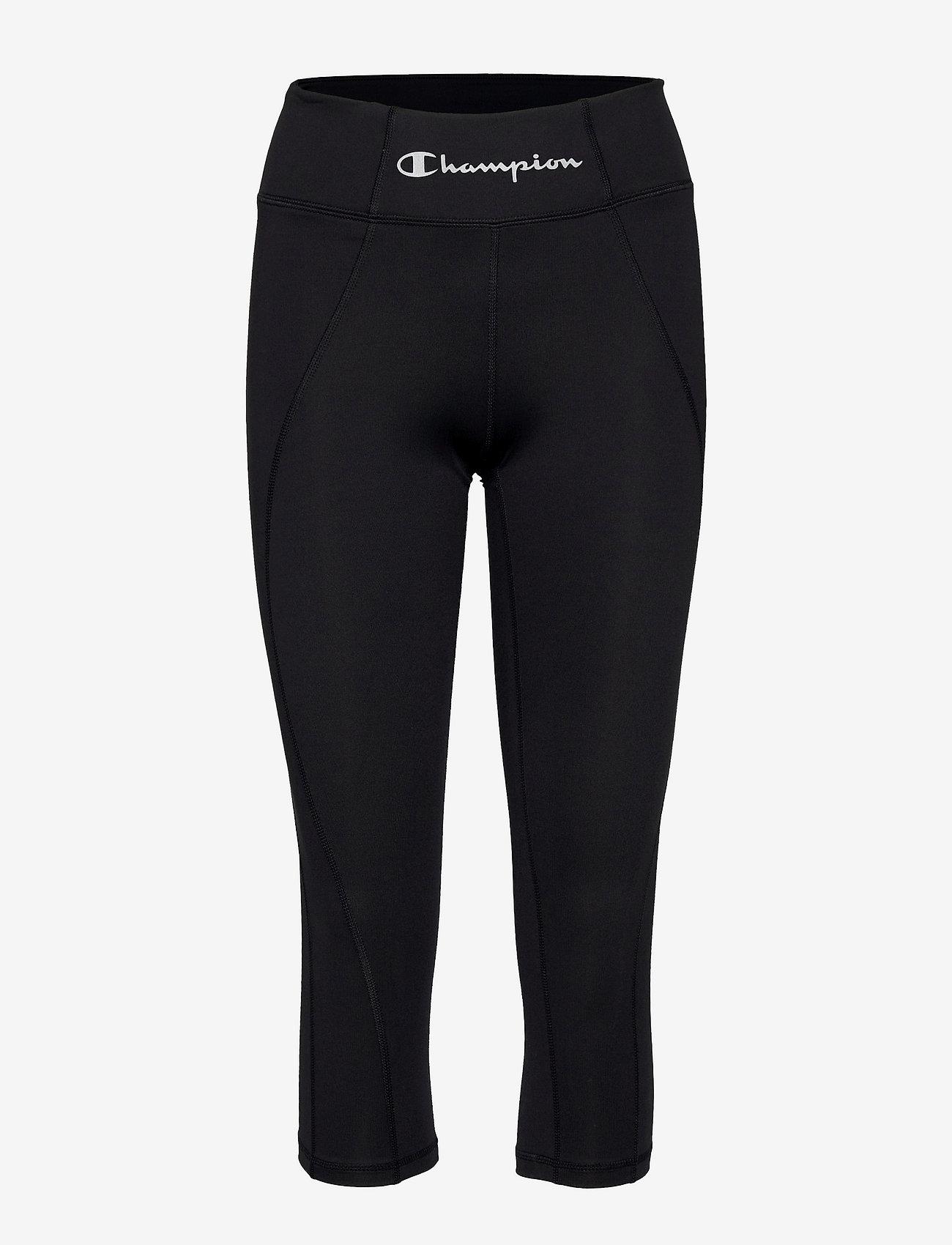 Champion - Capri Leggings - pantalon training - black beauty - 0