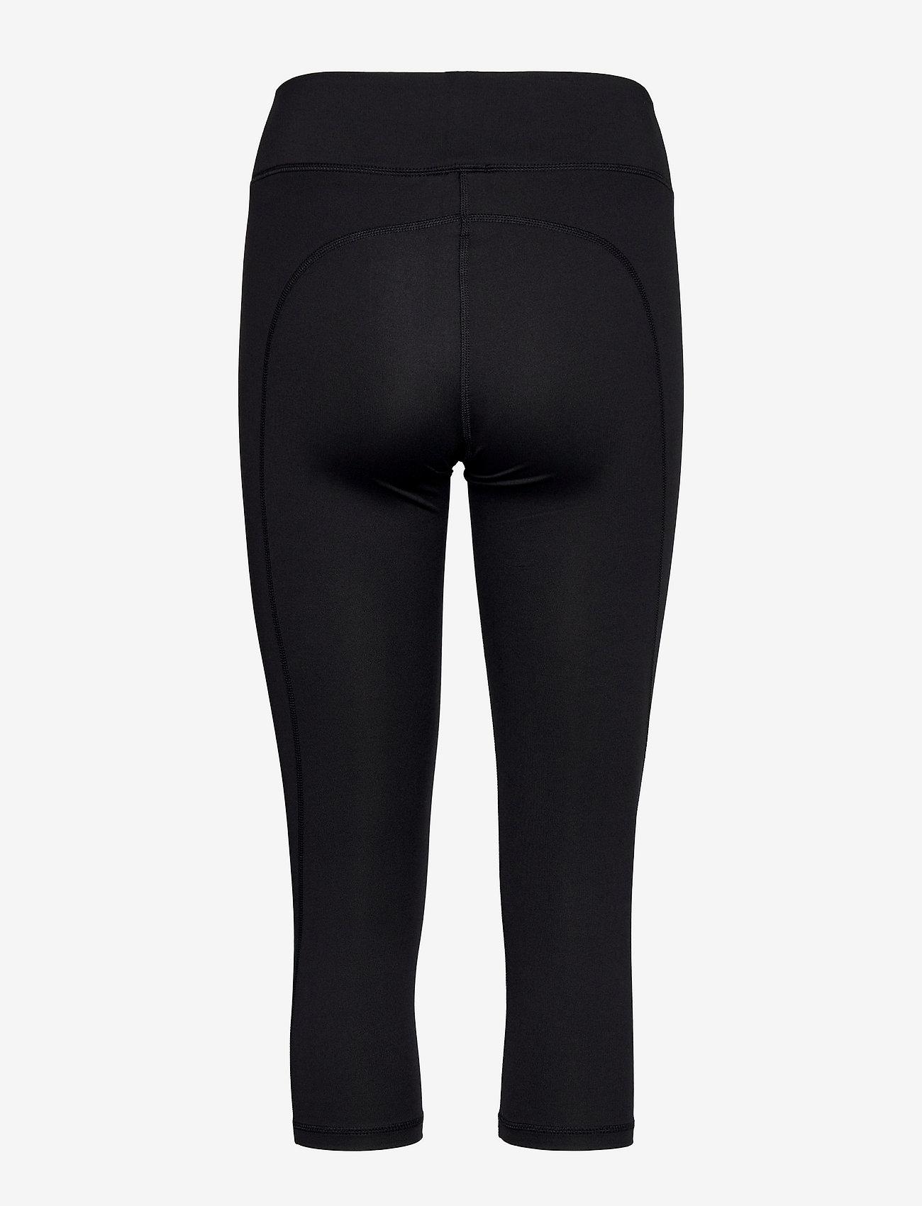 Champion - Capri Leggings - pantalon training - black beauty - 1