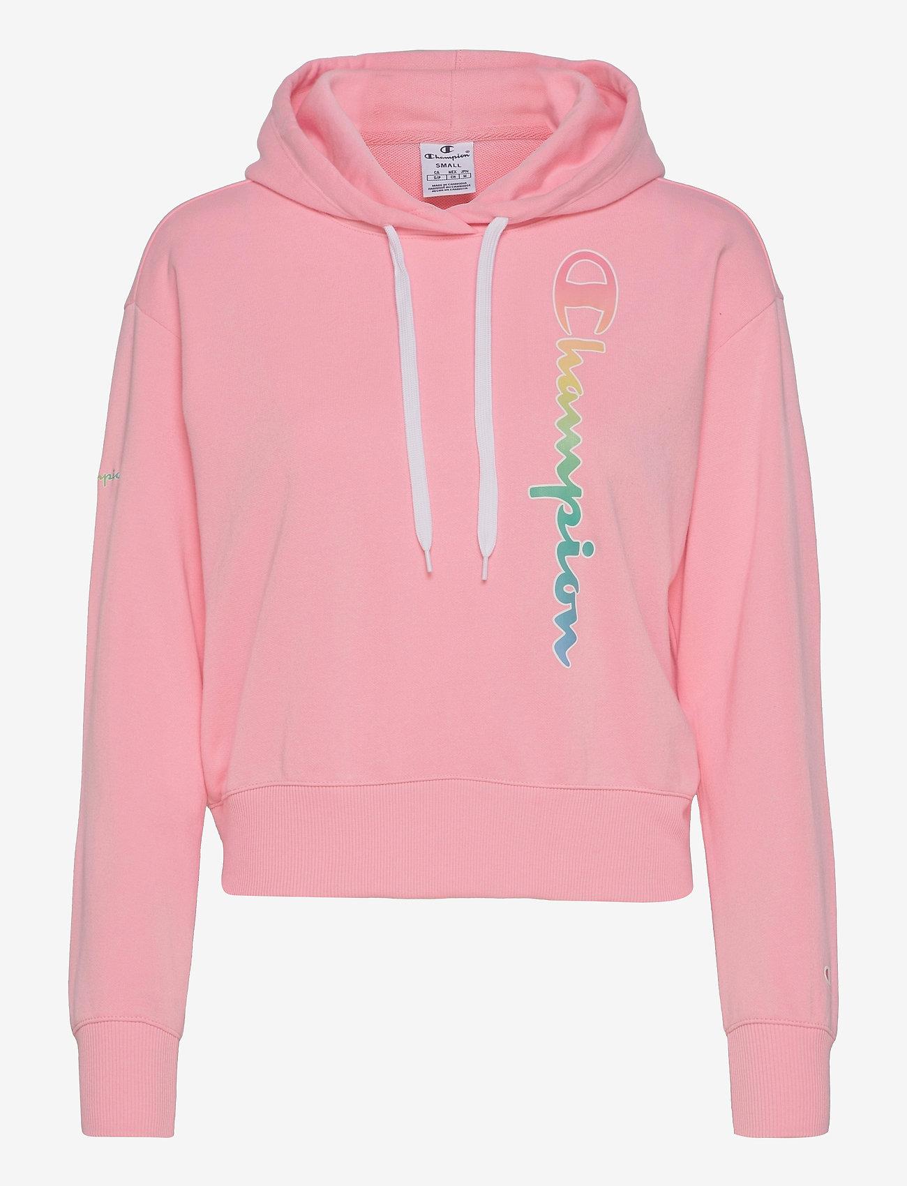 Champion - Hooded Sweatshirt - hættetrøjer - candy pink - 0