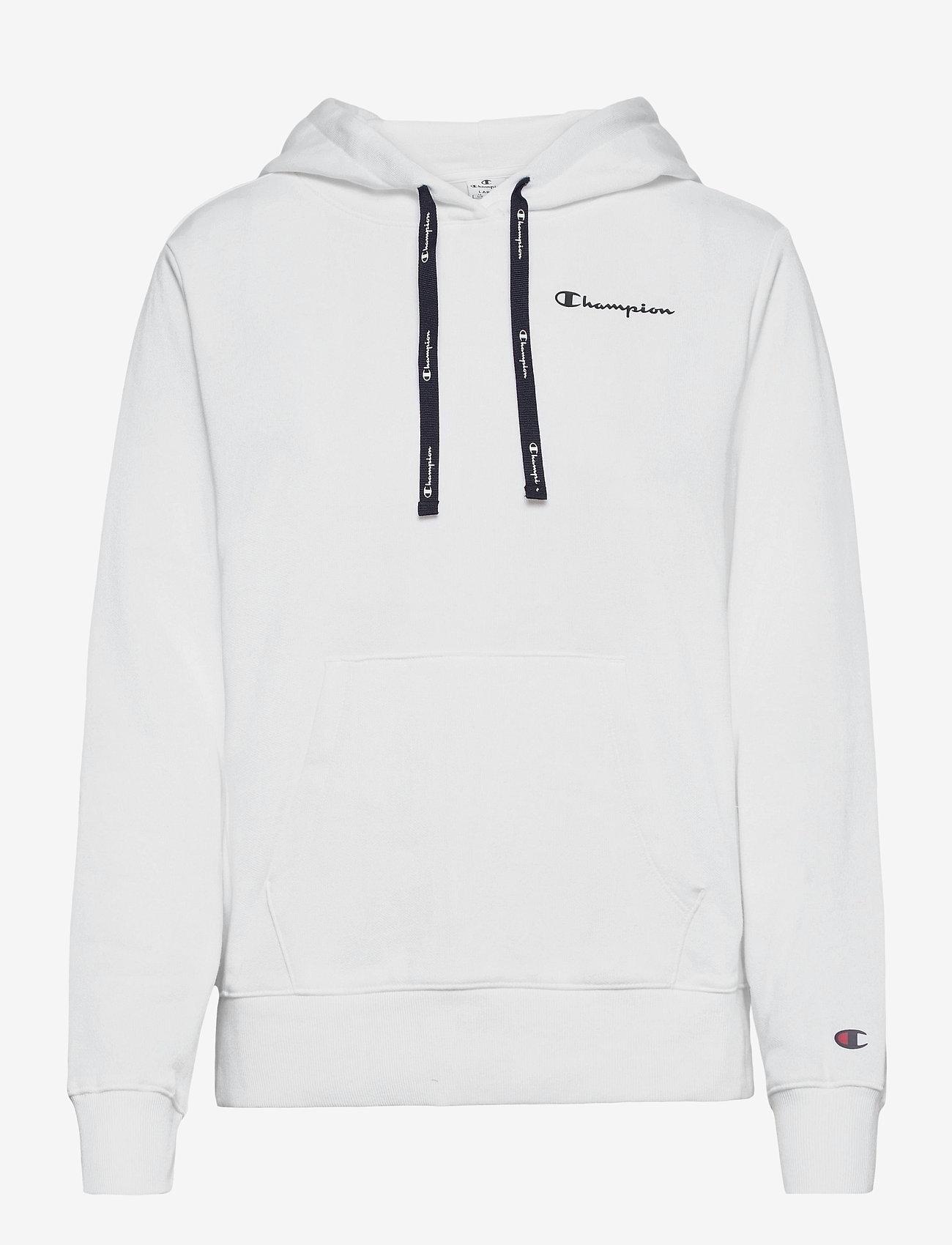 Champion - Hooded Sweatshirt - hættetrøjer - white - 0