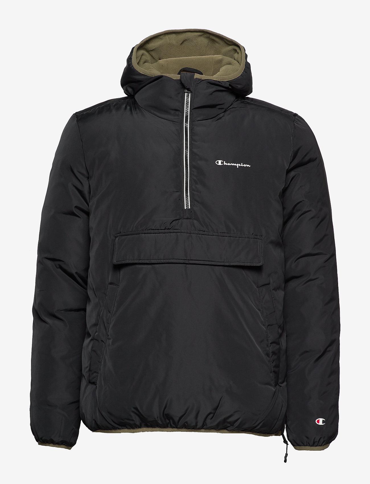 Champion - Hooded Jacket - anoraki - black beauty - 1