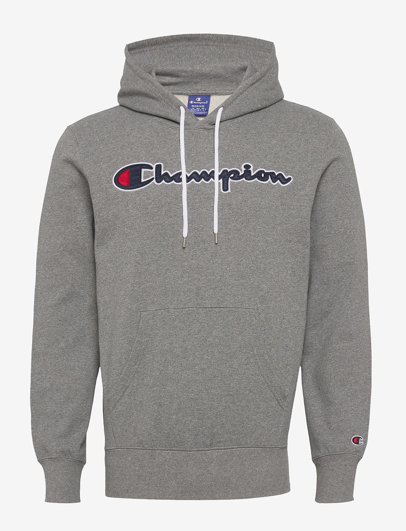 Champion - Hooded Sweatshirt - hoodies - graphite grey melange jasp - 0