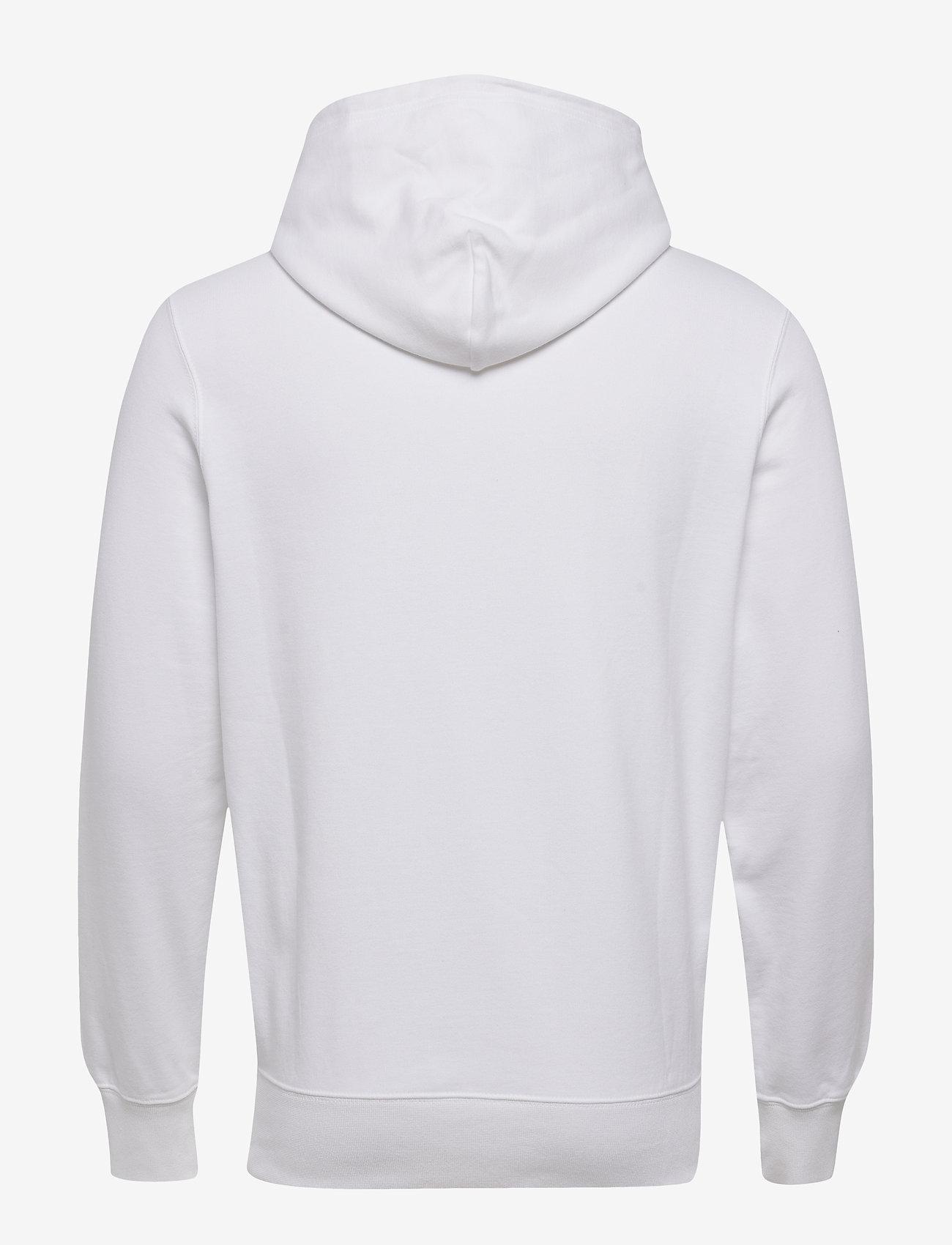 Champion Hooded Sweatshirt - Sweatshirts WHITE - Menn Klær