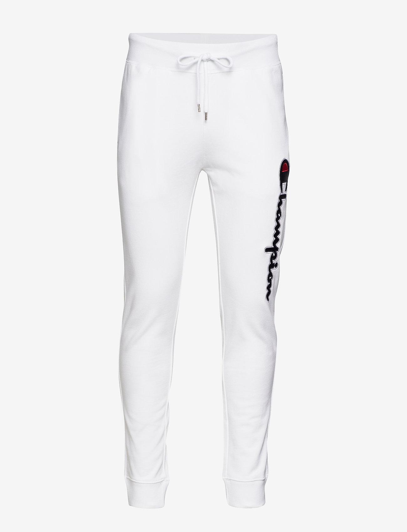 Champion - Rib Cuff Pants - treenihousut - white - 0