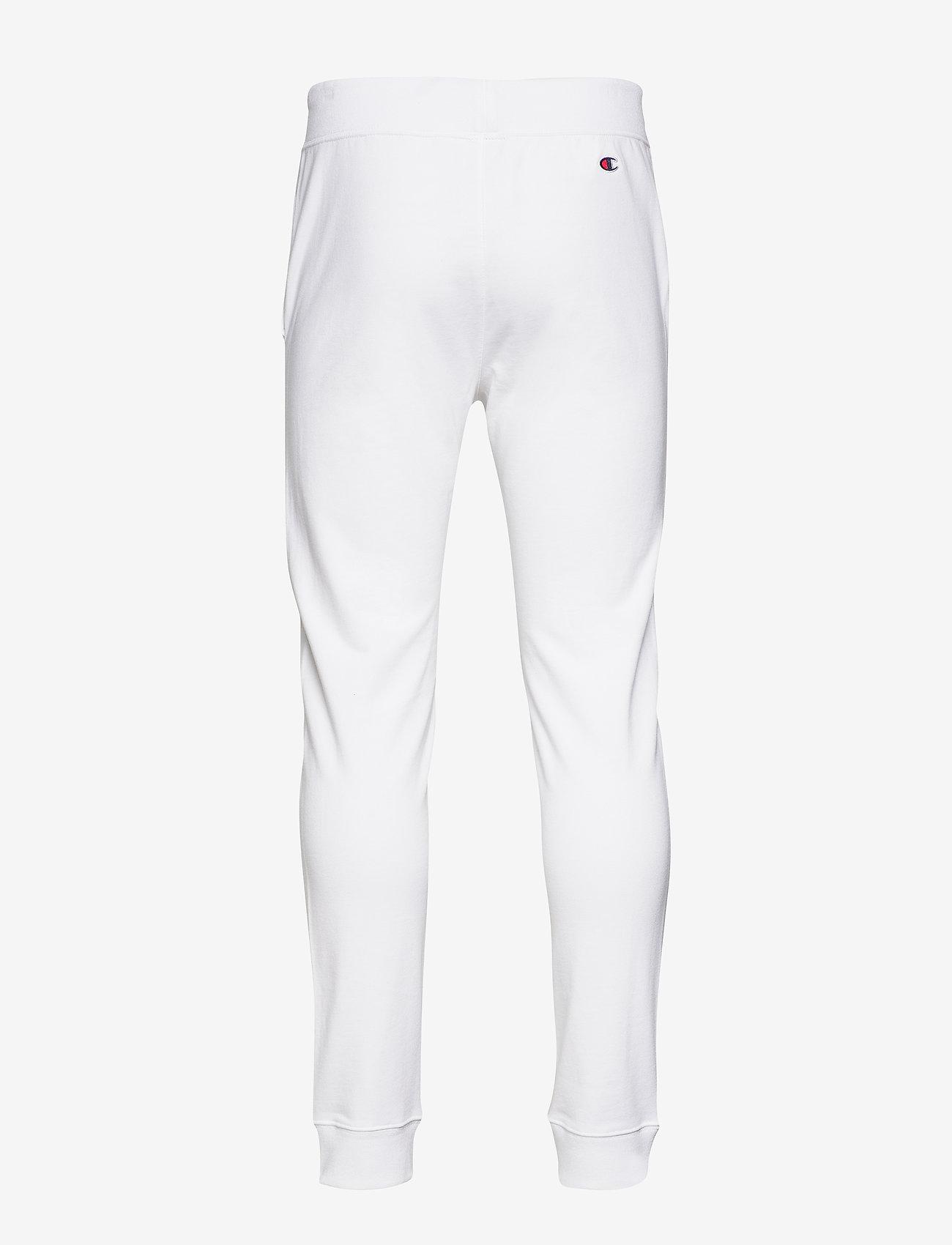 Champion - Rib Cuff Pants - treenihousut - white - 1