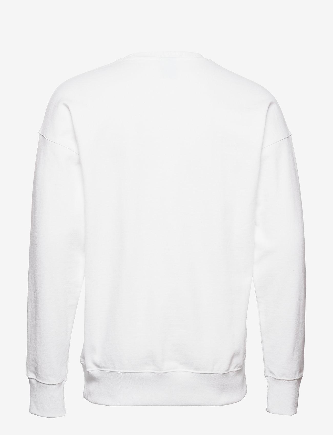 Champion Crewneck Sweatshirt - Sweatshirts WHITE - Menn Klær
