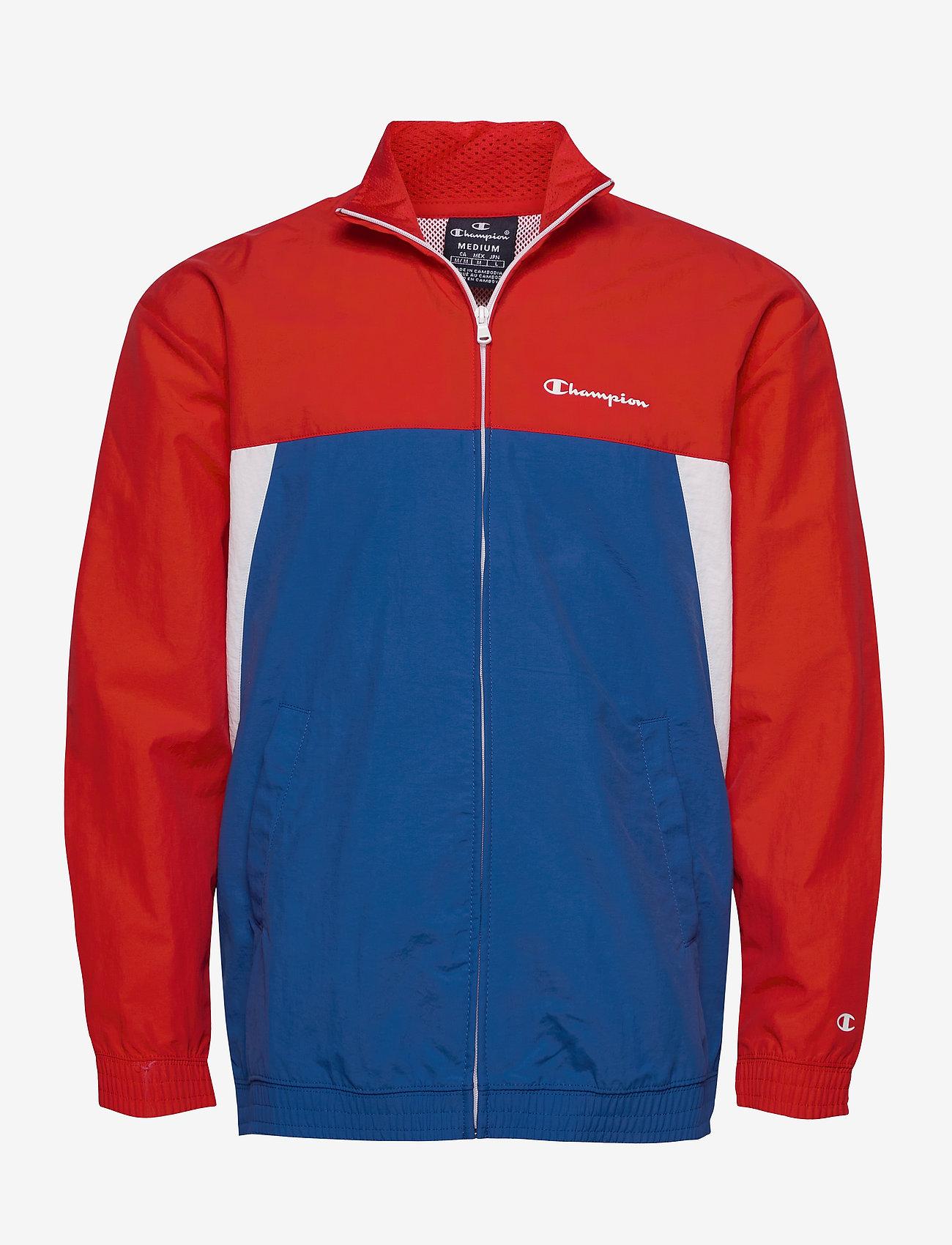 Champion - Full Zip Sweatshirt - athleisure jackets - high risk red - 0